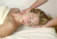 Client receiving Swedish Relaxation Massage